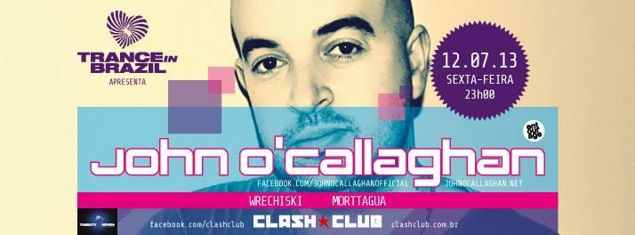 Trance in Brazil - John o Callaghan @ Clash Club