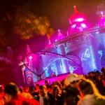 Palco Full On, Tomorrowland Brasil 2015, enquanto Aly & Fila comandava a pista.