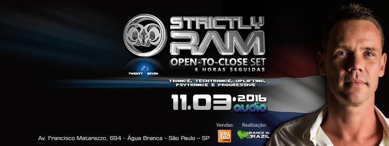 Trance in Brazil apresenta Strictly RAM