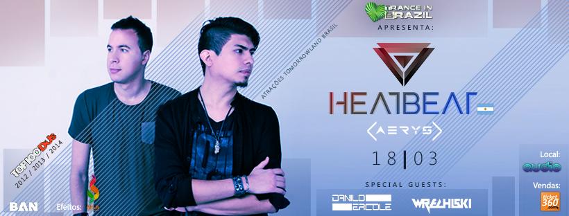 Trance in Brazil apresenta Heatbeat